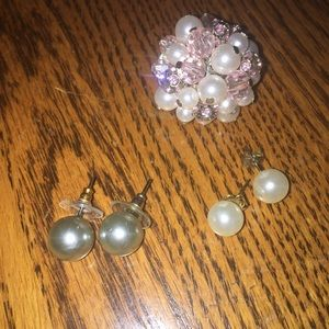Fake pearl lot